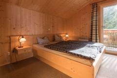 Erstes Schlafzimmer im Obergeschoss